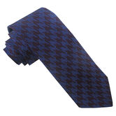 Wool Blend Large Houndstooth Tie, , hi-res