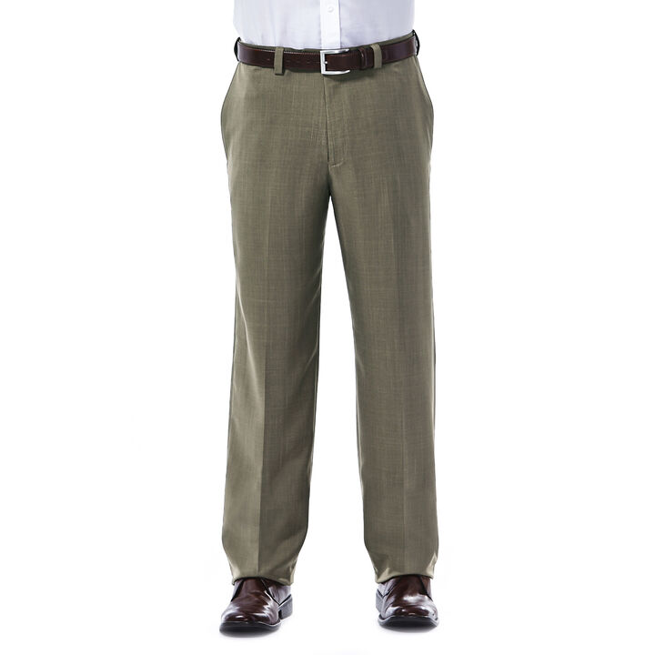 E-CLO™ Stria Dress Pant, Khaki, hi-res