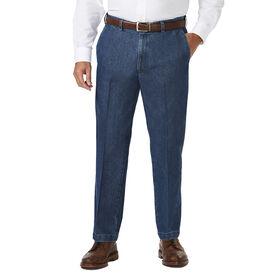 Big & Tall Stretch Denim Trouser, Medium Blue