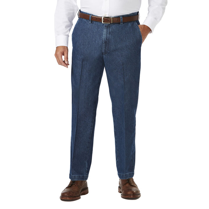 Big & Tall Stretch Denim Trouser,