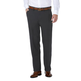 J.M. Haggar Premium Stretch Shadow Check Suit Pant, Black / Charcoal