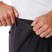 E-CLO™ Stria Dress Pant, Black / Charcoal, hi-res 4