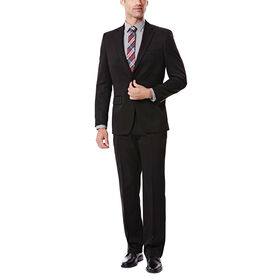 Big & Tall Travel Performance Suit  Separates Jacket, Black