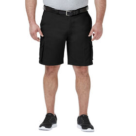 Big & Tall Stretch Cargo Short, Black