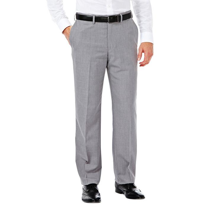 E-CLO™ Stria Heather Dress Pant, Grey, hi-res