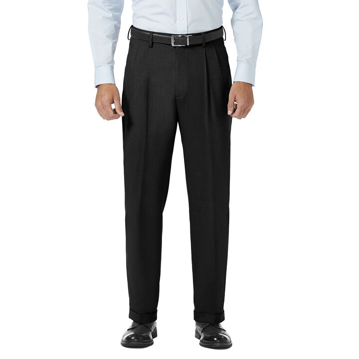 J.M. Haggar Dress Pant - Sharkskin, , hi-res
