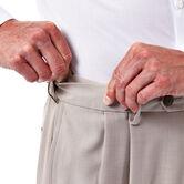 E-CLO™ Stria Dress Pant, Stone, hi-res 4