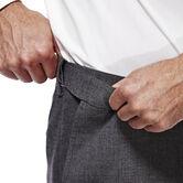 J.M. Haggar Premium Stretch Suit Pant - Flat Front, Dark Heather Grey, hi-res 4