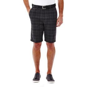 Cool 18® Madras Plaid Short, Graphite