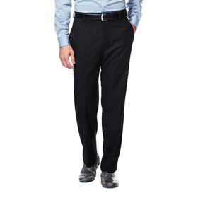 Twill Stria Dress Pant, Black