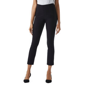 Flat Front Ankle Pant, Charcoal
