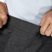 J.M. Haggar 4 Way Stretch Dress Pant, Charcoal Heather, hi-res 5