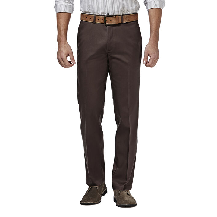 Premium No Iron Khaki, Chocolate, hi-res