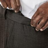 Big & Tall J.M. Haggar Premium Stretch Suit Pant - Flat Front, Chocolate, hi-res