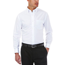 Solid Oxford Dress Shirt, White
