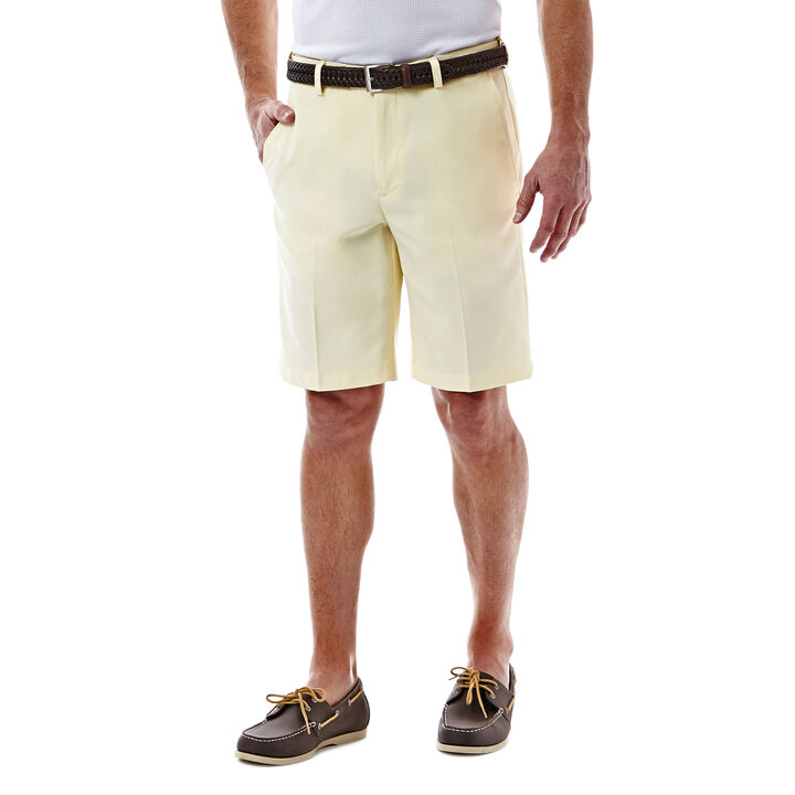 Cool 18® Oxford Short, Light Yellow, hi-res
