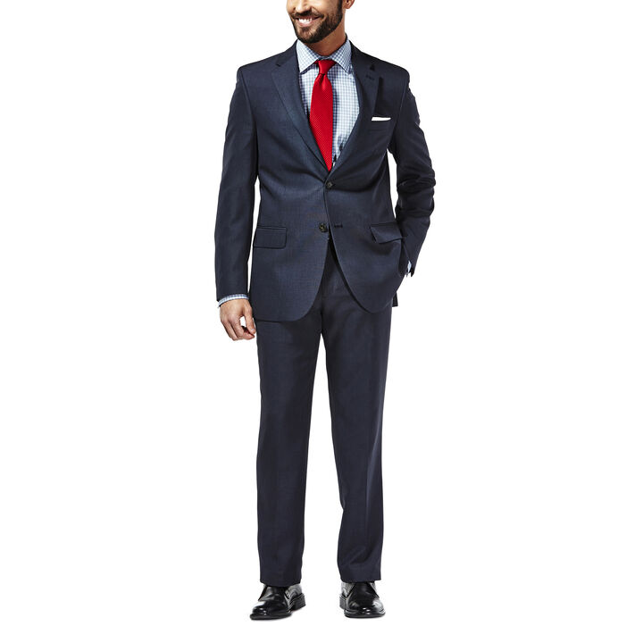 Travel Performance Suit Separates Jacket, Navy, hi-res