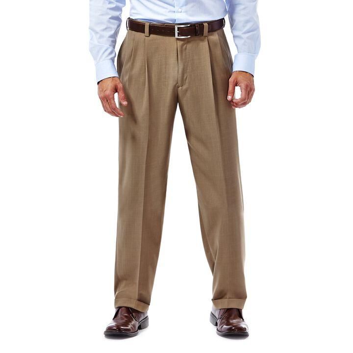 E-CLO™ Stria Dress Pant, British Khaki, hi-res