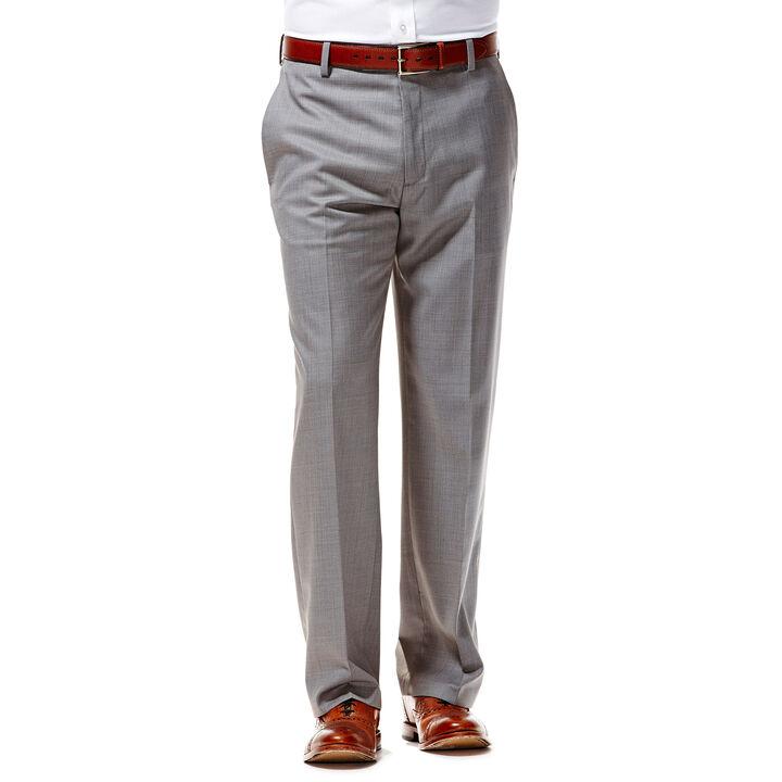 Twill Stria Dress Pant, Light Grey, hi-res