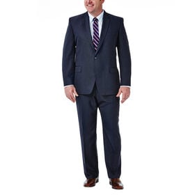 Big & Tall Travel Performance Suit Separates Jacket, Navy