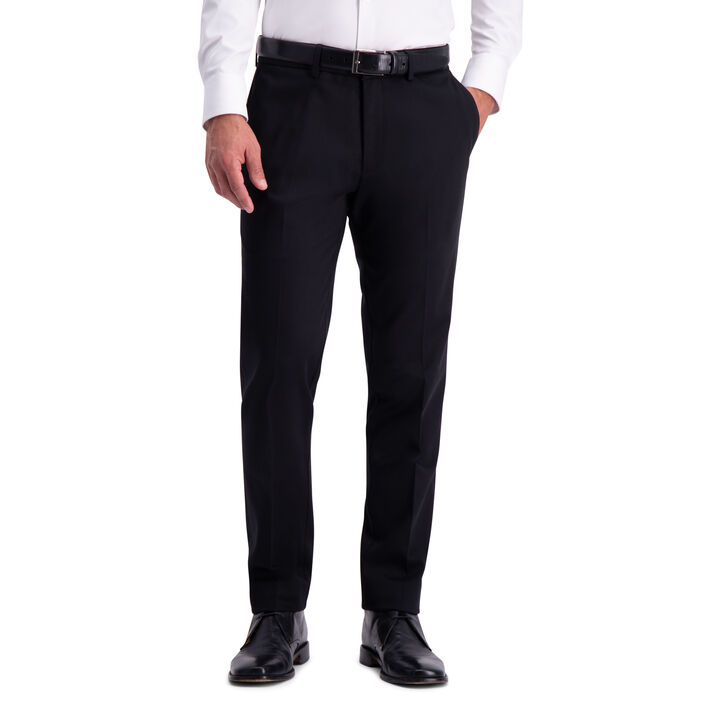 Premium No Iron Khaki Pant, Black, hi-res