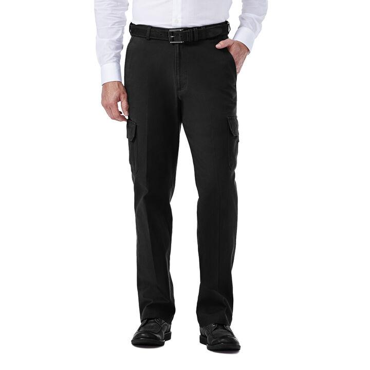 Stretch Comfort Cargo Pant, Black, hi-res