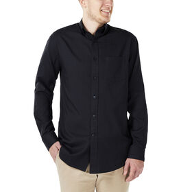 Tonal Navy Long Sleeve Woven, Midnight