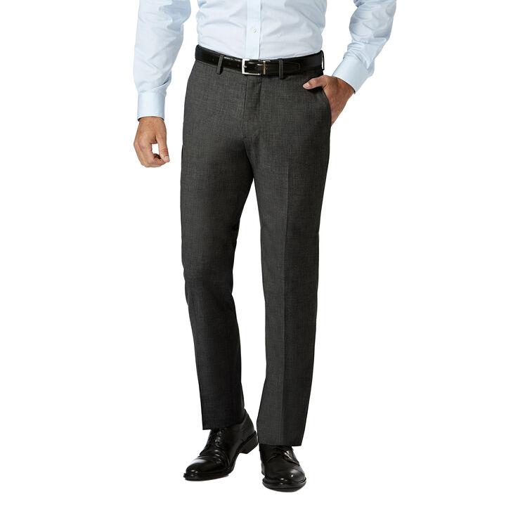 J.M. Haggar 4 Way Stretch Dress Pant, Charcoal Heather, hi-res