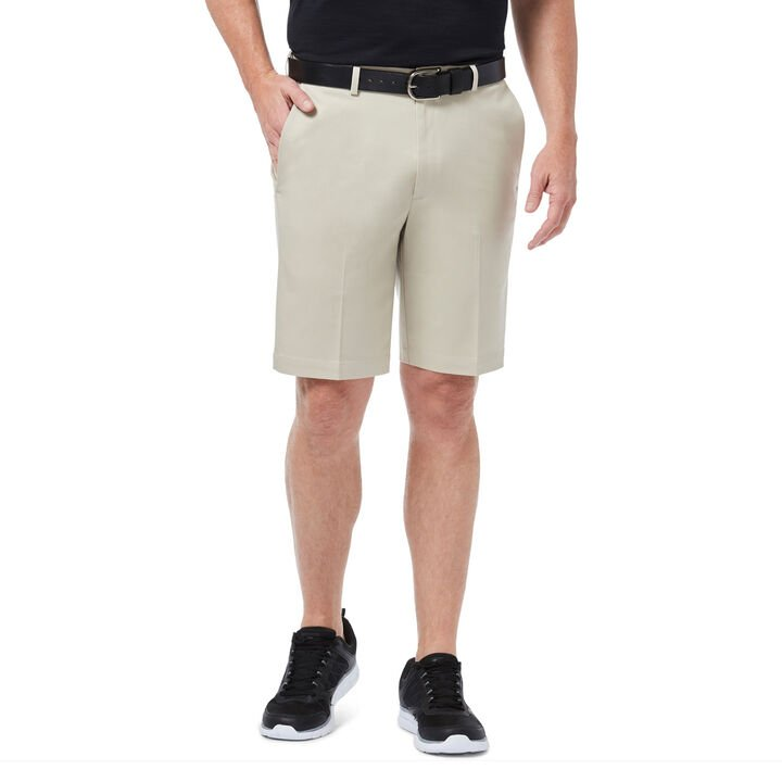 Premium No Iron Khaki Short, Sand, hi-res