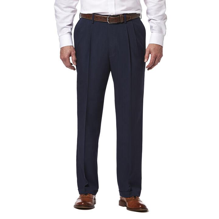 E-CLO™ Stria Dress Pant, Blue, hi-res