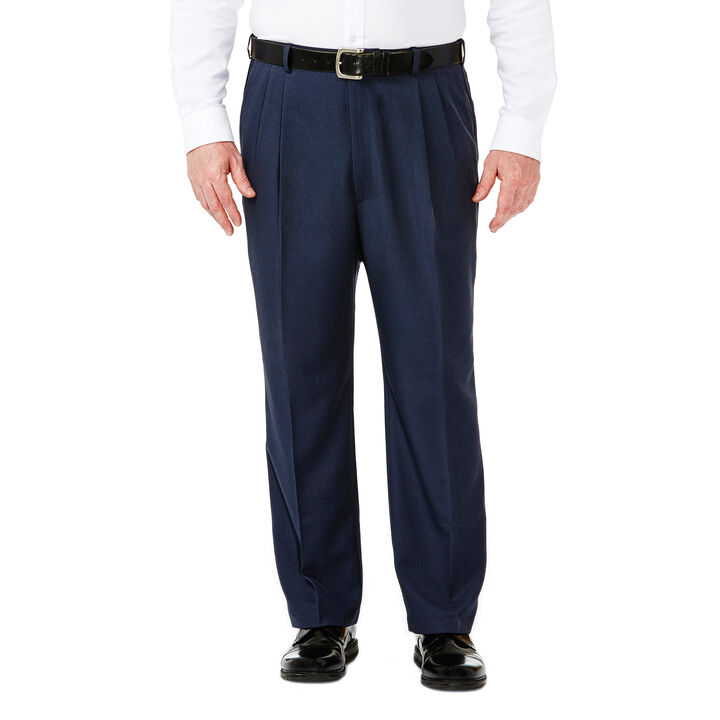 Big & Tall Cool 18® Heather Solid Pant, Heather Blue, hi-res
