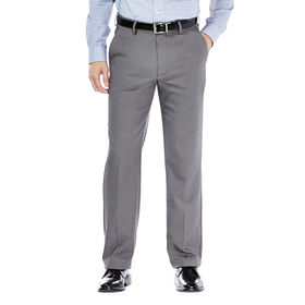 Performance Microfiber Slacks, Heather, Graphite