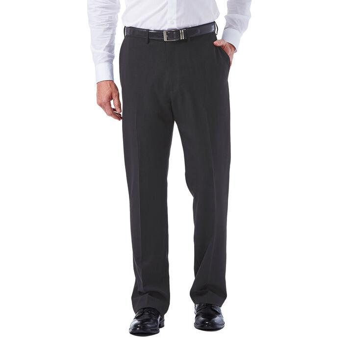 E-CLO™ Tonal Plaid Dress Pant, Black / Charcoal, hi-res
