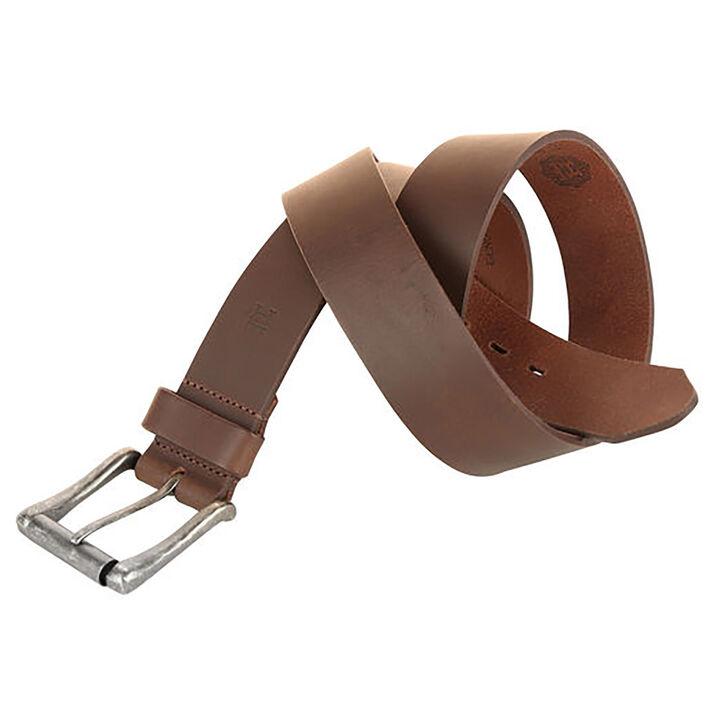 Casual Roller Buckle Belt, Brown, hi-res