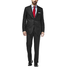Travel Performance Suit Separates Jacket, EBONY