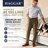 Premium No Iron Khaki, British Khaki, hi-res 4