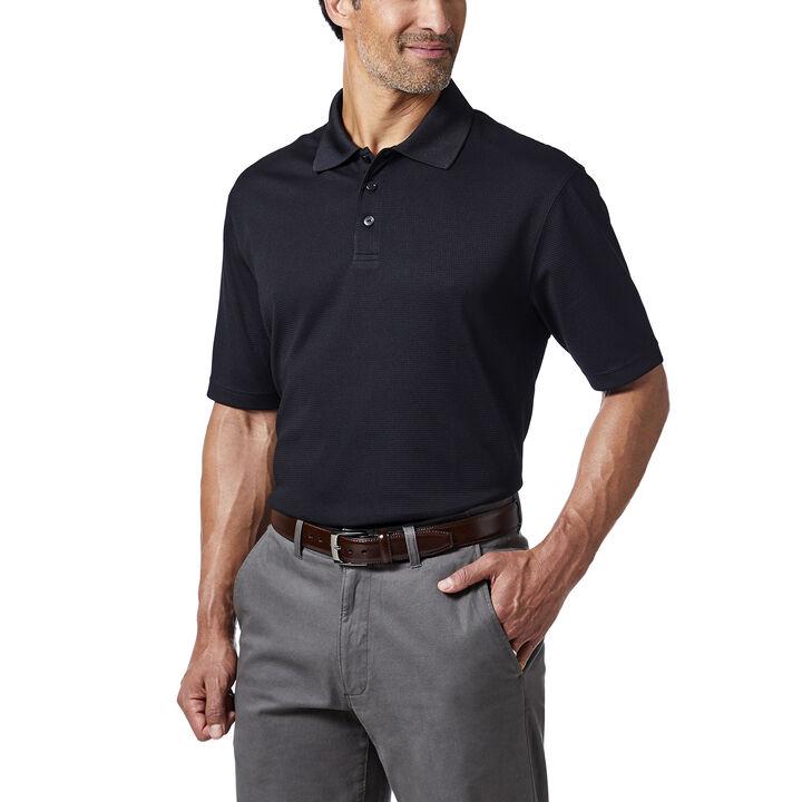 Cool 18® Golf Polo, Black, hi-res