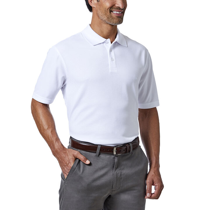 Cool 18® Golf Polo, White, hi-res