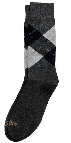 Dress Socks - Argyle, Bean