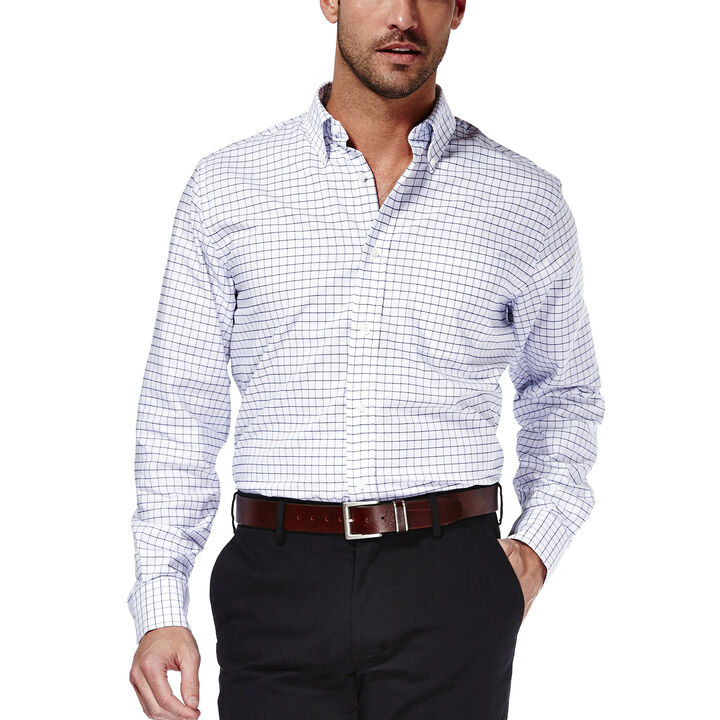 Check Oxford Dress Shirt, , hi-res
