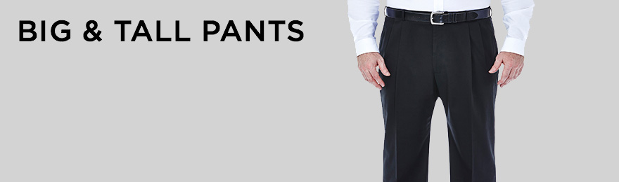 Big & Tall Pants Banner