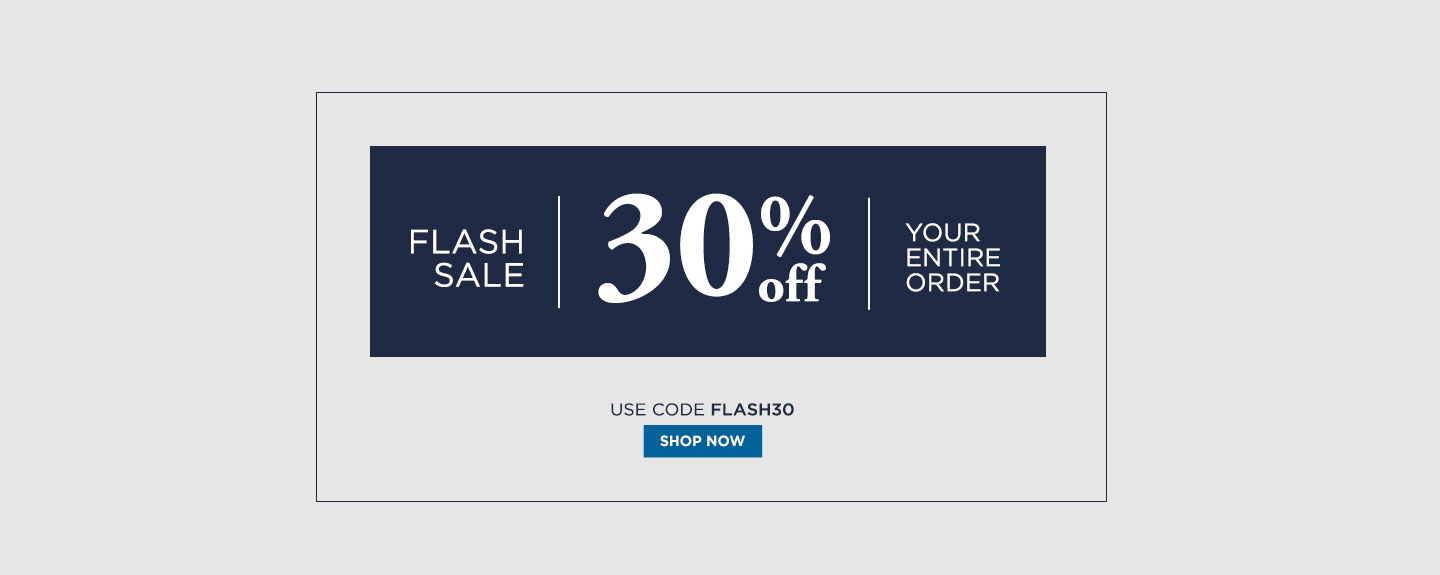 Extra 30% off Flash Sale