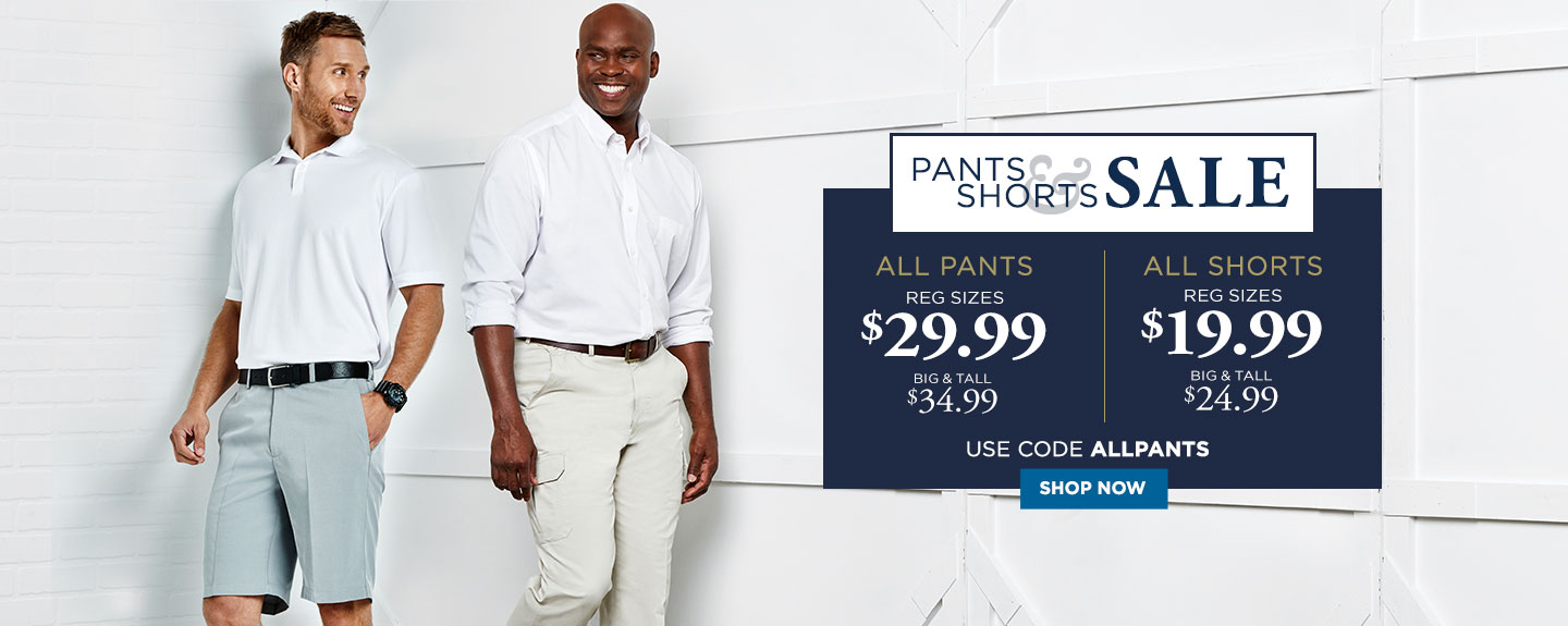 All pants 2 for $60 or 3 for $85 with code