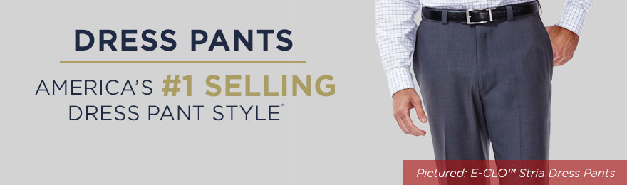 Dress Pants Category Banner