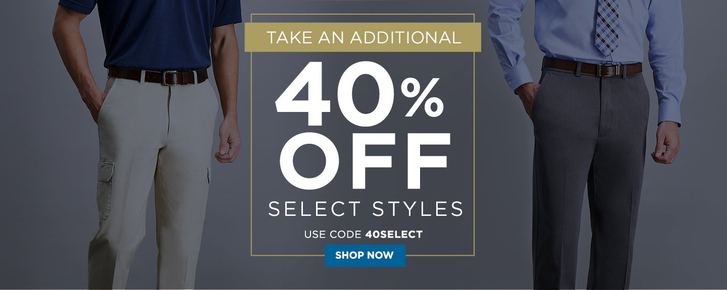 Additional 40% off Select Styles