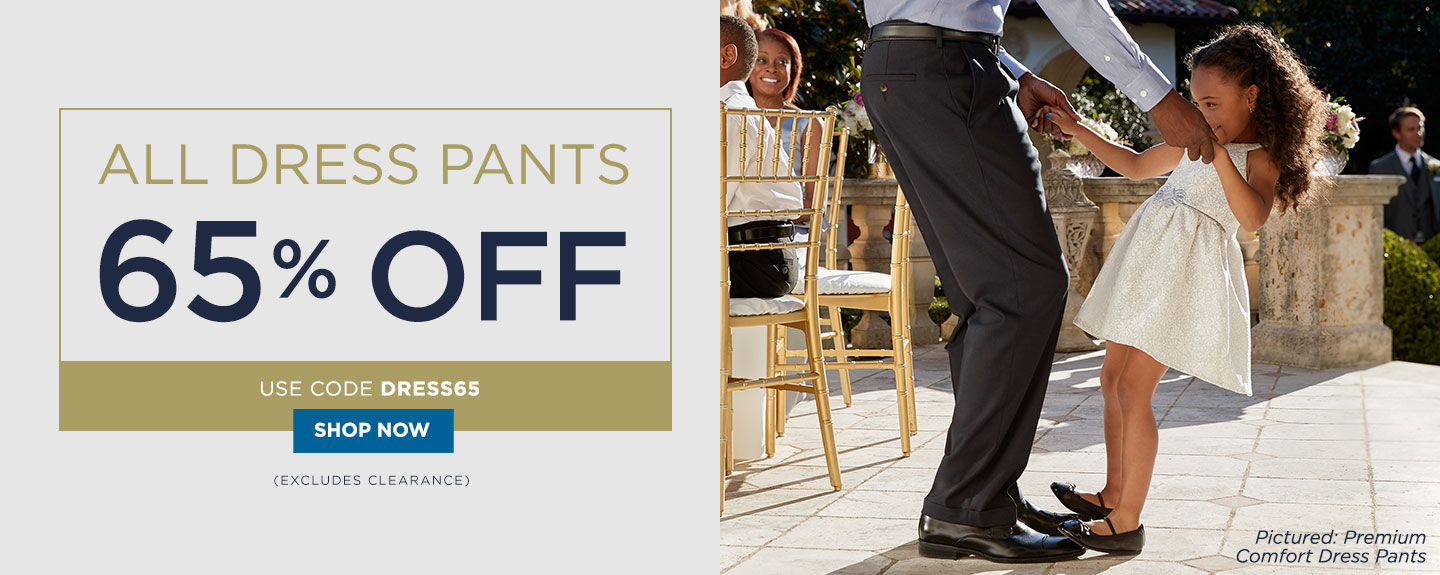 Additional 65% off All Dress Pants