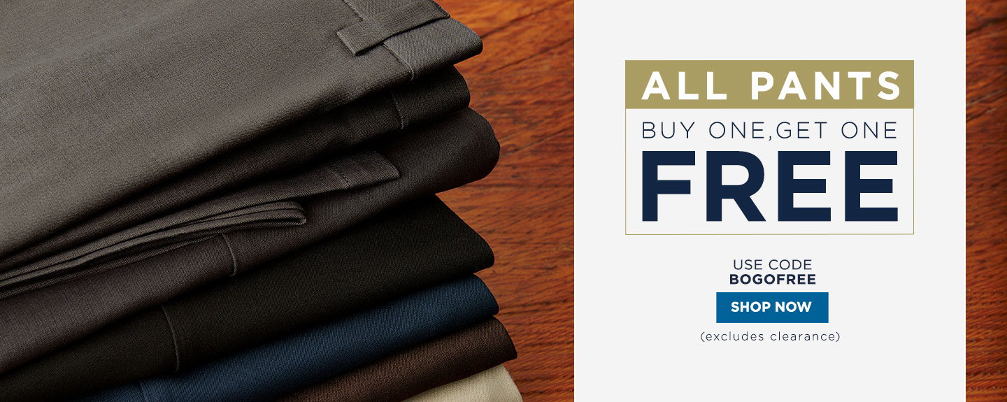 All Pants Buy One Get One Free