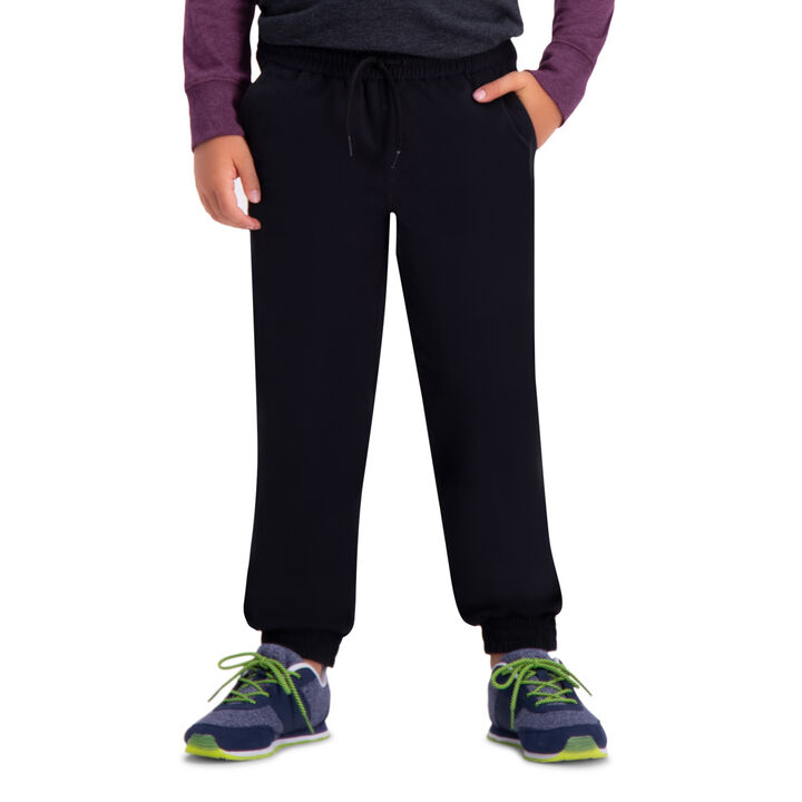 Boys Sustainable Jogger (8-20), Black open image in new window