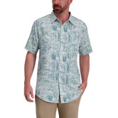 Green Tiki Shirt, Seaweed Cove 1