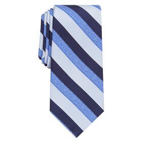 Lennox Stripe Tie, Blue